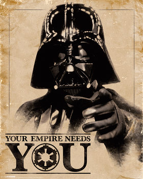 Star Wars - Your Empire Needs You Plakat