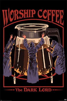 Steven Rhodes - Worship Coffee Plakat