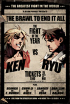 Street Fighter - Fight Poster Plakat