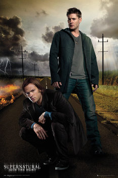Supernatural - Dean and Sam Plakat