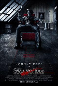 Sweeney Todd: Den djævelske barber fra Fleet Street Plakat