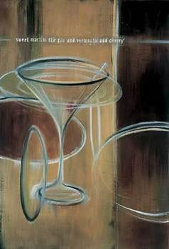 Sweet Martini Kunsttryk