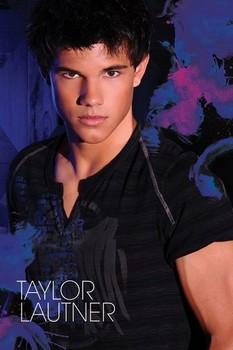TAYLOR LAUTNER - blue Plakat