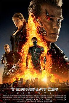 Terminator Genisys - One Sheet (Arnold Schwarzenegger) Plakat