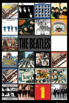 The Beatles - Albums Plakat