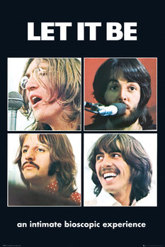 The Beatles - Let It Be Plakat