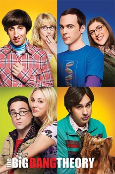 The Big Bang Theory - Blocks Plakat