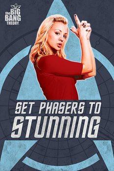 THE BIG BANG THEORY - phasers Plakat