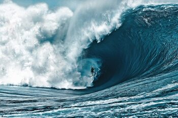 The Big Wave Plakat