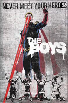 The Boys - Homelander Stencil Plakat