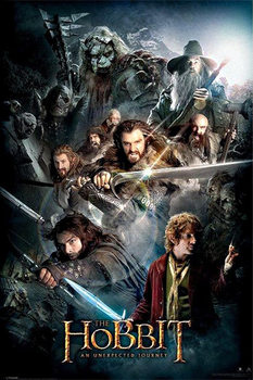 The Hobbit - Dark Montage Plakat