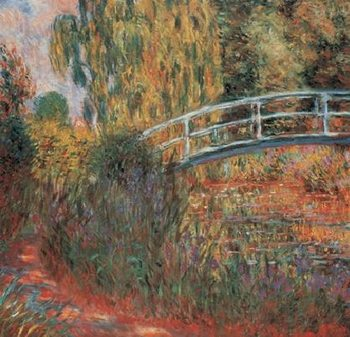 The Japanese Bridge - The Japanese Footbridge, 1899 Kunsttryk