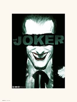 The Joker - Smile Kunsttryk