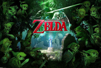 The Legend of Zelda - Link Plakat