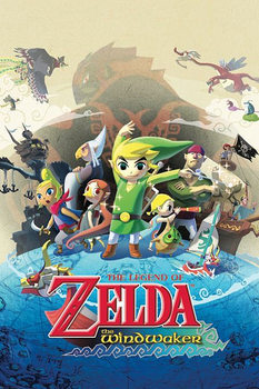 The Legend of Zelda - The Windwaker Plakat