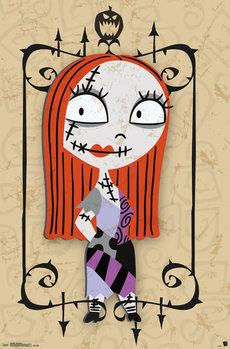 The Nightmare Before Christmas - Sally Plakat