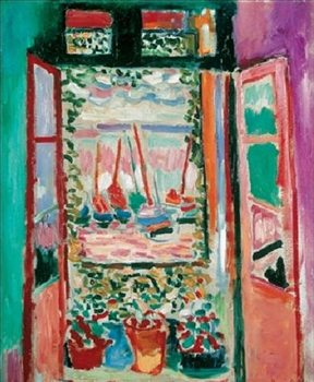 The Open Window, Collioure, 1905 Kunsttryk