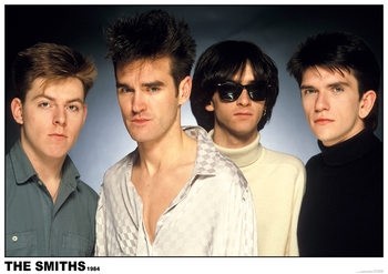 The Smiths 1984 Plakat