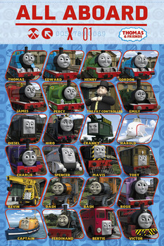 THOMAS AND FRIENDS - profile Plakat