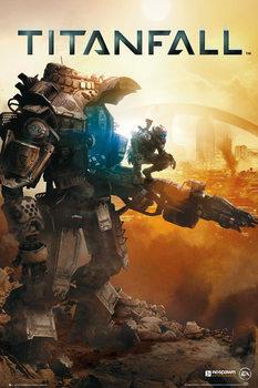 Titanfall - cover  Plakat