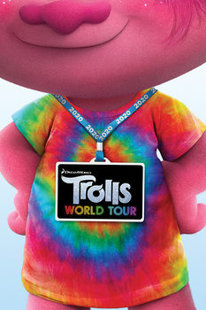 Trolls på verdensturné - Backstage Pass Plakat