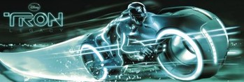 TRON - bike Plakat