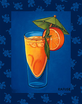 TROPICAL COCTAIL III Kunsttryk