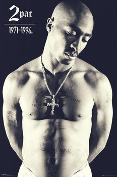 Tupac - Cross Plakat