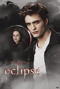 TWILIGHT ECLIPSE - edward & bella moon Plakat