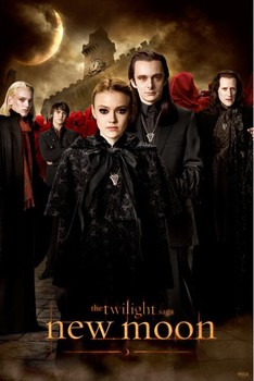 TWILIGHT NEW MOON - voltori Plakat
