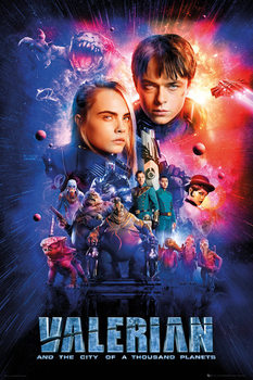 Valerian and the City of a Thousand Planets - One Sheet Plakat