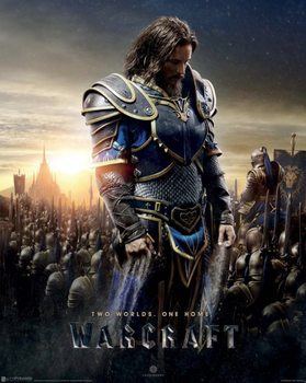 Warcraft: The Beginning - Lothar Plakat