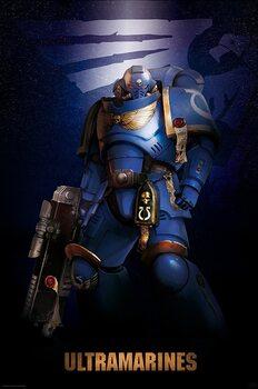 Warhammer 40K - Ultramarine Plakat
