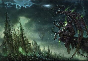 Plakat World of Warcraft - Illidan Stormrage