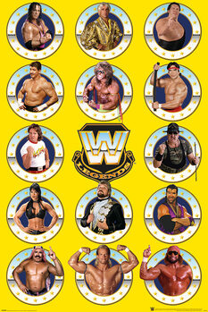 WWE - Legends Chrome Plakat