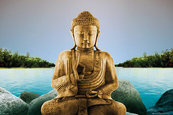 Zen - Buddha Plakat