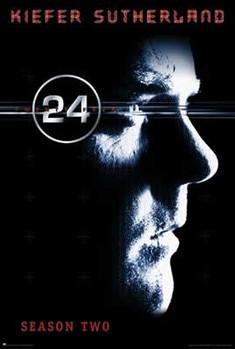 24 SEASON 2 - Kiefer Sutherland Plakat