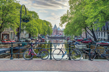Assaf Frank - Amsterdam Poster