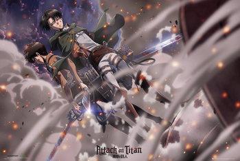 Attack on Titan (Shingeki no kyojin) - Battle Poster