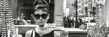 Audrey Hepburn - window Poster