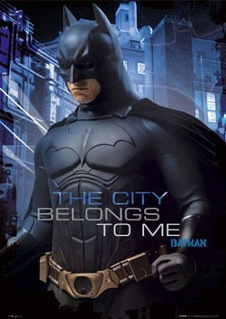 BATMAN BEGINS - characters Poster