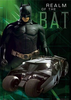 BATMAN BEGINS - realm Poster