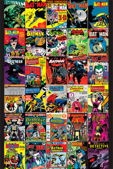 BATMAN - covers Poster