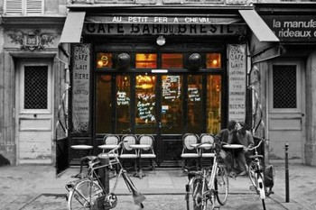Cafe bar du Bresil Poster