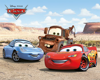Cars - Best Friends Poster