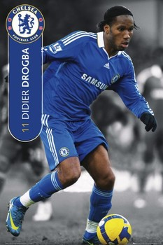 Chelsea - Drogba 08/09 Poster
