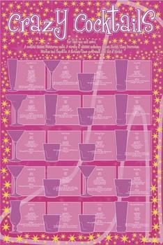 Crazy coctails  Plakat