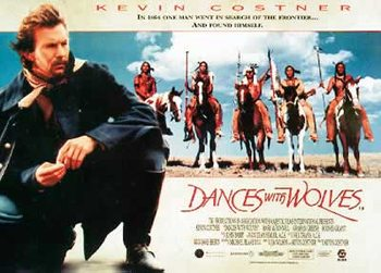 Dances with Wolves - Kevin Costner Poster