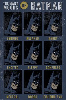 DC Originals - The Many Moods Of Batman Poster