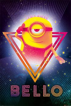 Despicable Me 3 - 80's Bello Poster